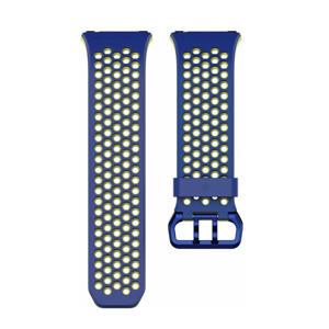 Ionic sport polsband Small (Blauw/Geel)