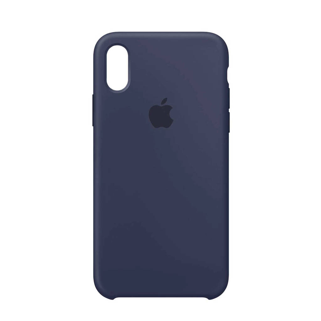 Apple iPhone X backcover, Blauw