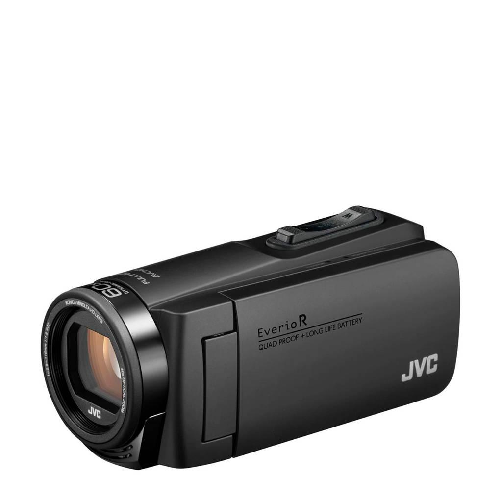 JVC Everio GZ-R495B camcorder met cameratas en 16GB SD kaart, Zwart