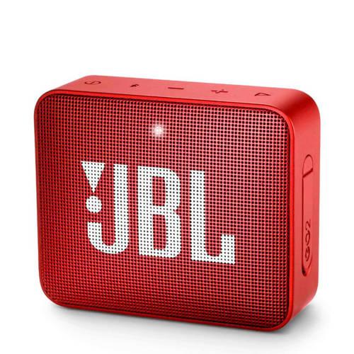 JBL GO 2 bluetooth speaker rood kopen