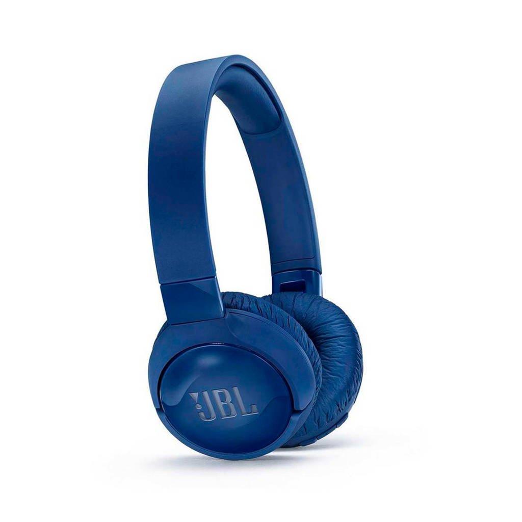 JBL on-ear bluetooth koptelefoon TUNE 600BTNC blauw, Blauw