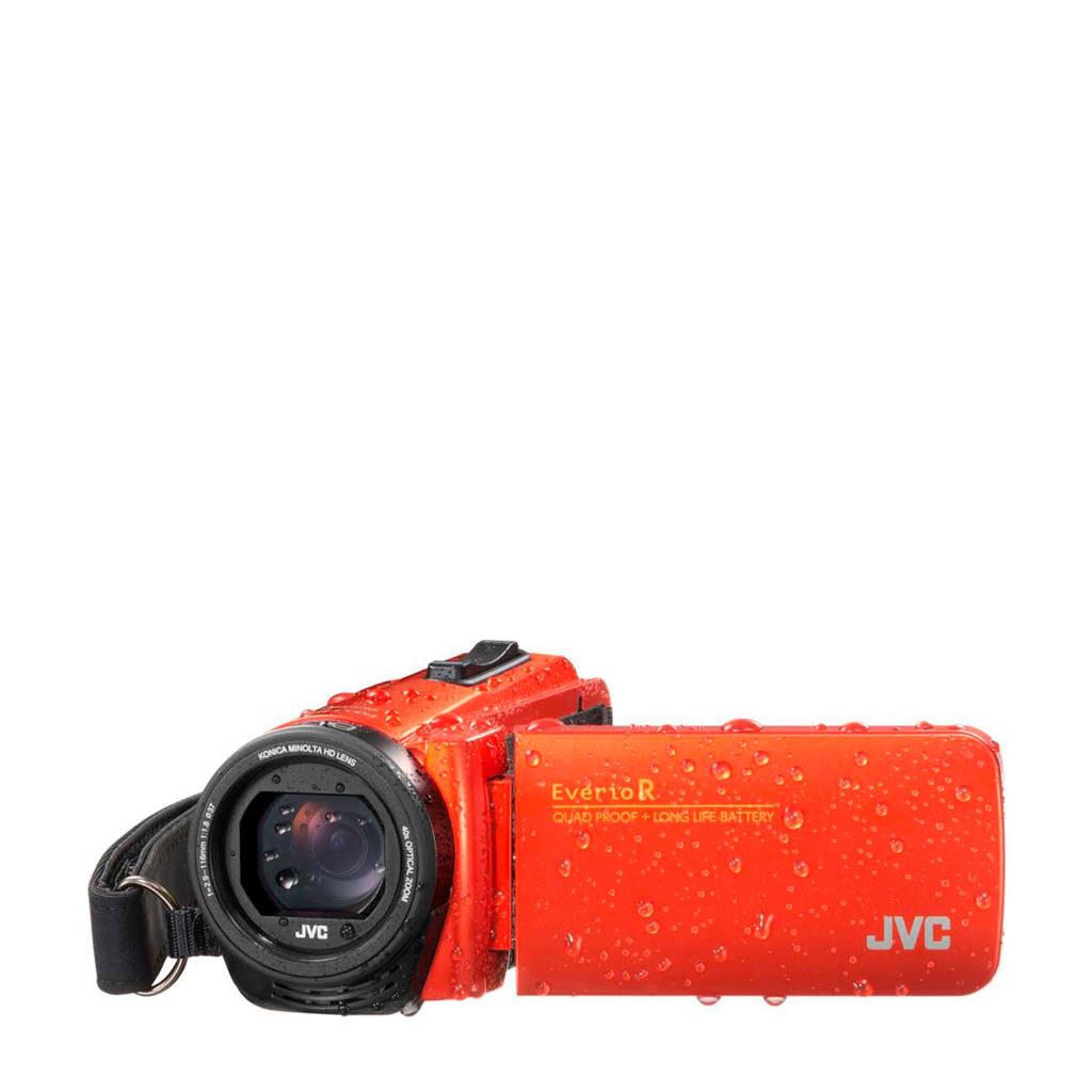 JVC Everio GZ-R495D camcorder met cameratas en 16GB SD kaart