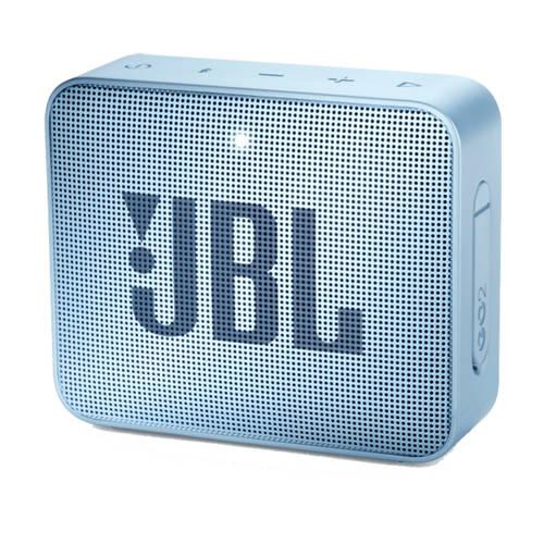 JBL GO 2 bluetooth speaker lichtblauw