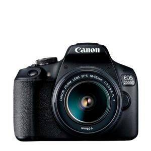 EOS 2000D + 18-55mm IS spiegelreflexcamera