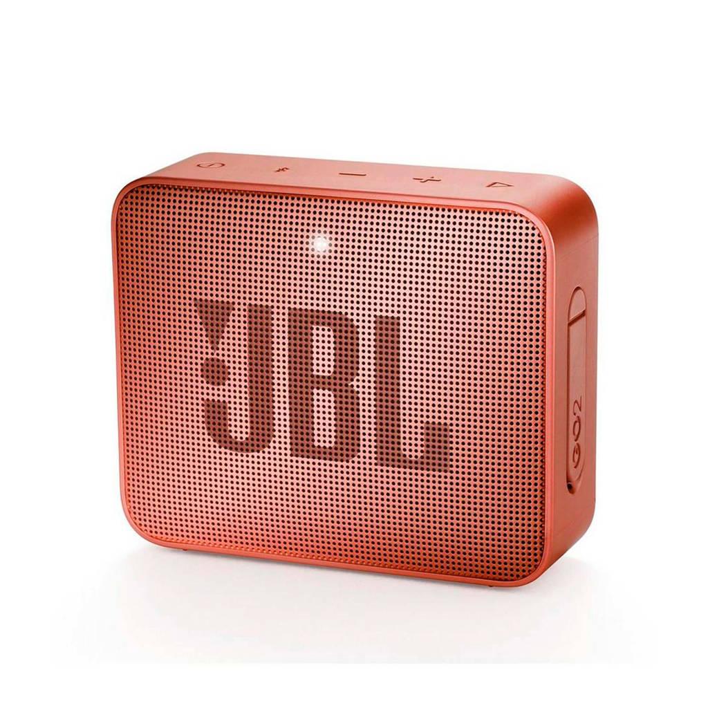 JBL GO 2  bluetooth speaker bruin, Bruin, Rood