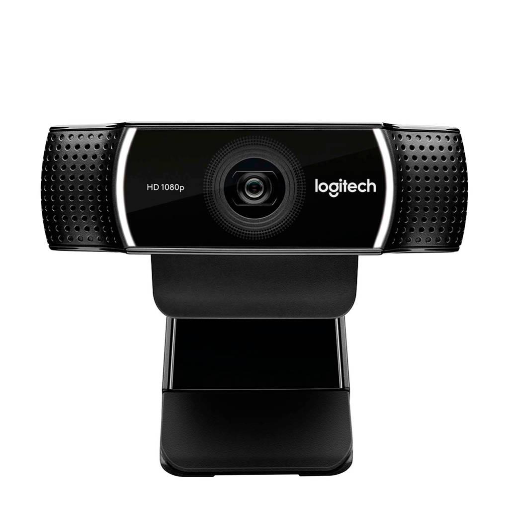 Logitech C922 Pro Stream webcam, Zwart