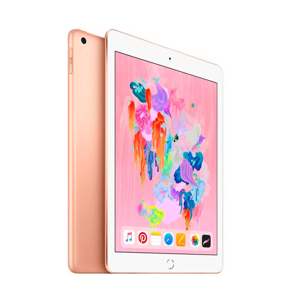 Apple 9.7 iPad (2018) 128GB Wi-Fi + Cellular (MRM22NF/A), Goud