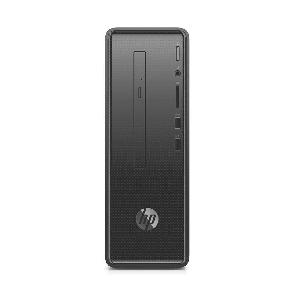 HP Slimline 290-p0200nd computer, Zwart