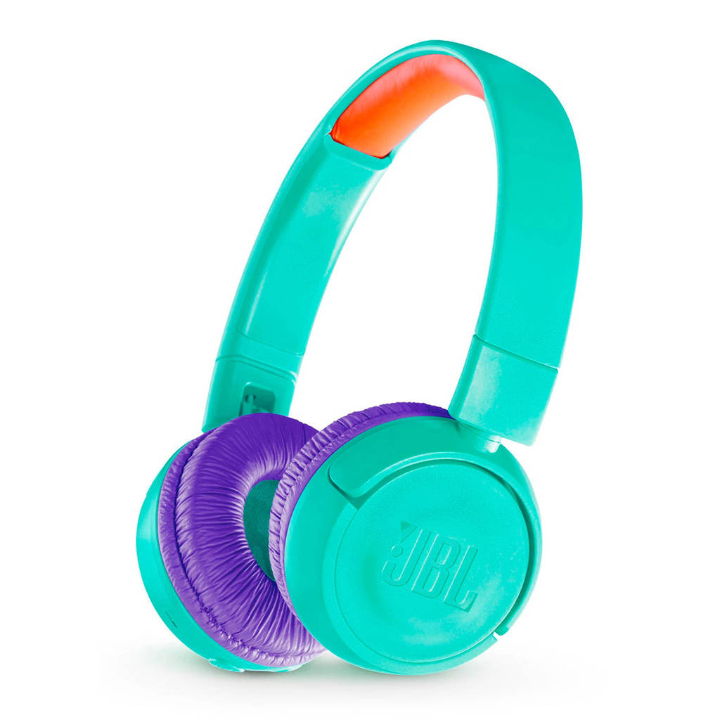 JBL on-ear kinder hoofdtelefoon JR300BT blauwgroen