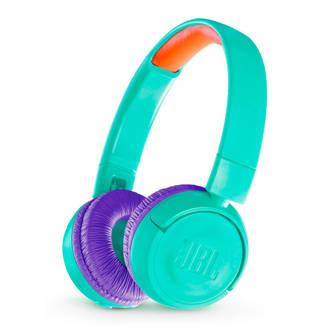 on-ear kinder hoofdtelefoon JR300BT blauwgroen