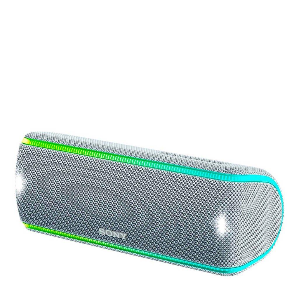Sony SRS-XB31  bluetooth speaker, Wit