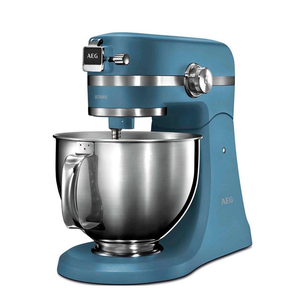 AEG KM5560 keukenmachine, Blauw
