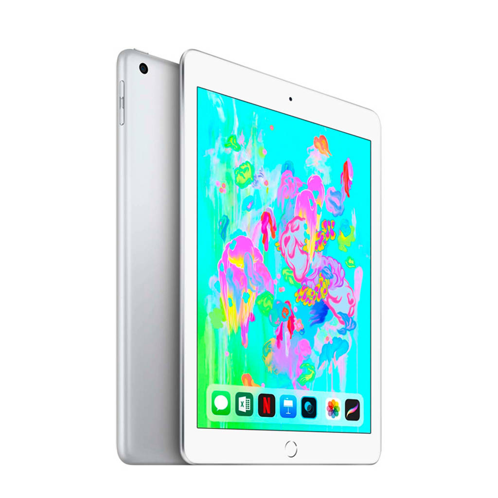 Apple 9.7 iPad (2018) 128GB Wi-Fi + Cellular (MR732NF/A), Zilver