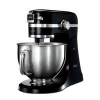 AEG KM4300 keukenmachine, Zwart, Rvs
