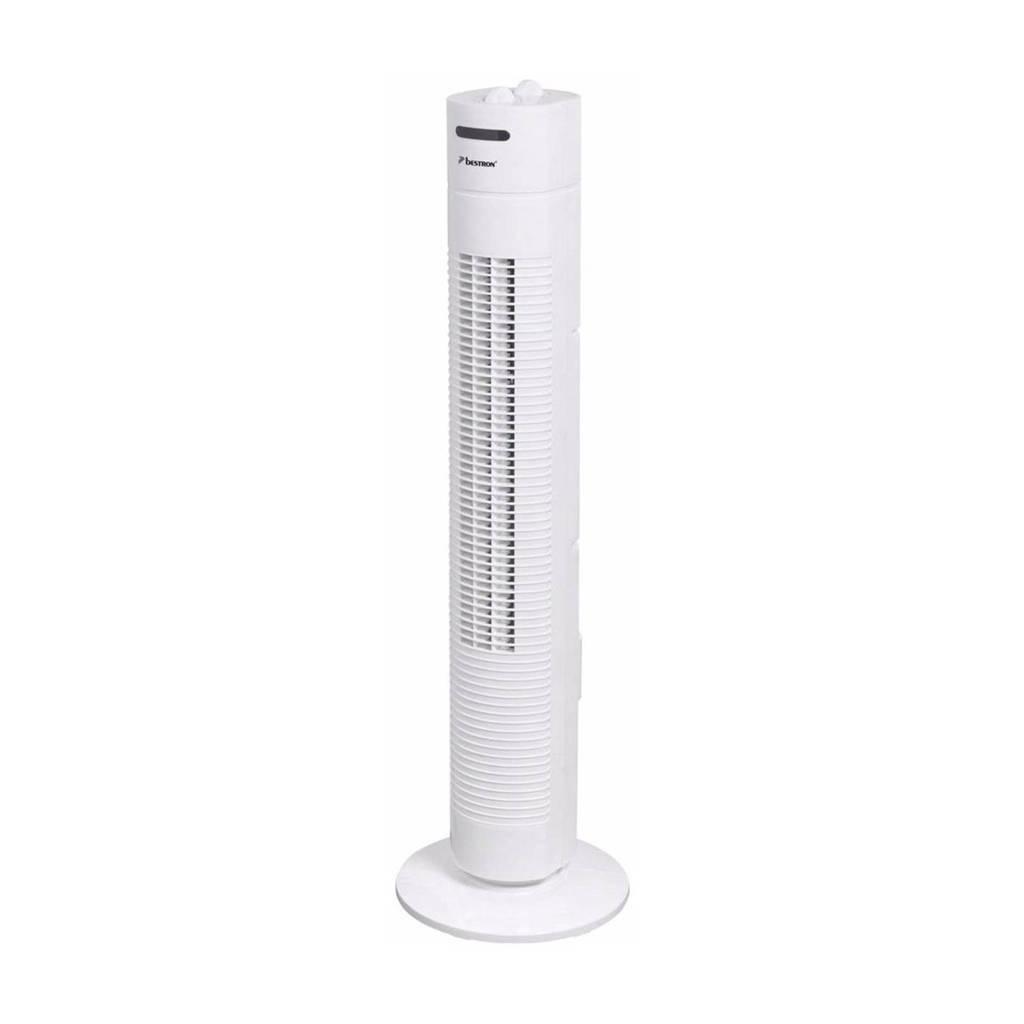 Bestron AFT760W towerventilator, Wit