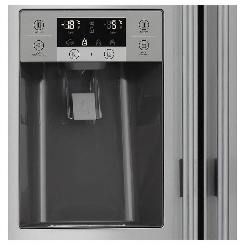 Super AEG RMB56111NX Amerikaanse koelkast   wehkamp FD-48