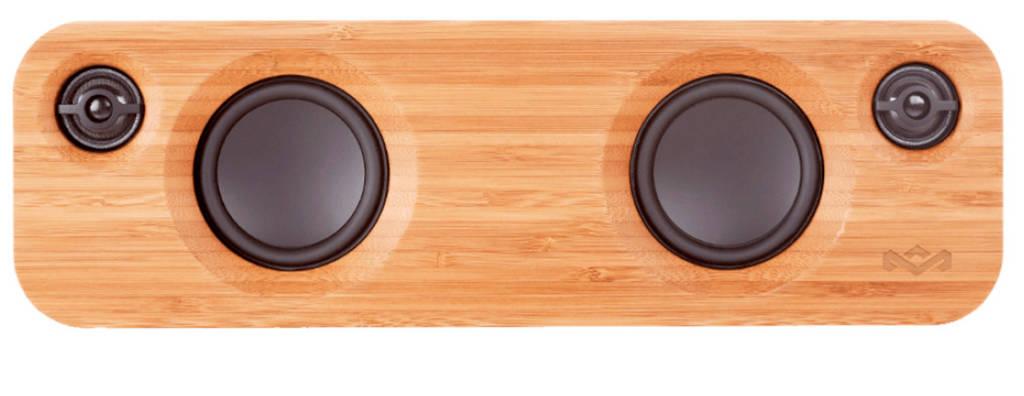 House of Marley GET TOGETHER MINI  bluetooth speaker groen, Zwart, Groen, Hout
