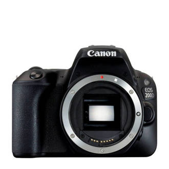 Canon EOS 200D + EF-S 18-135mm IS STM spiegelreflex camera