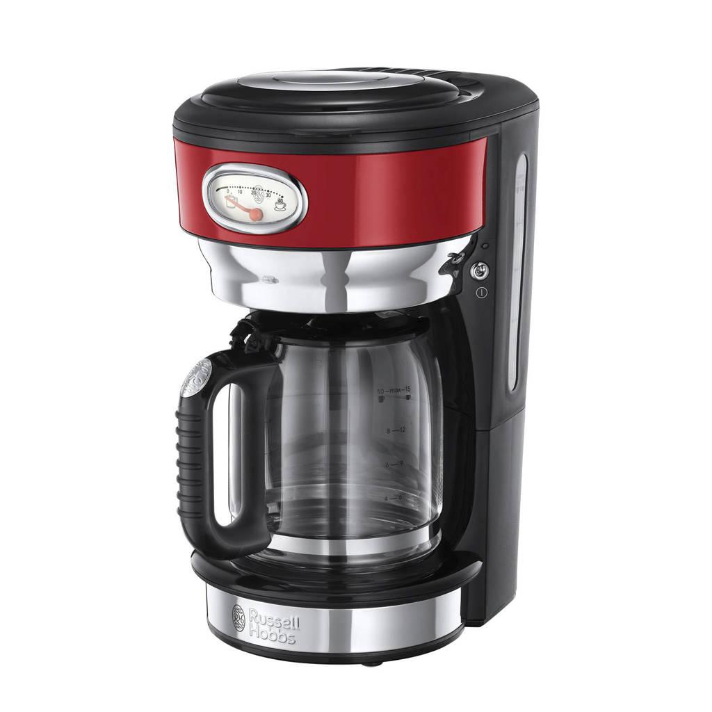 Russell Hobbs 21700-56 Retro Ribbon Red koffiezetapparaat, Rood