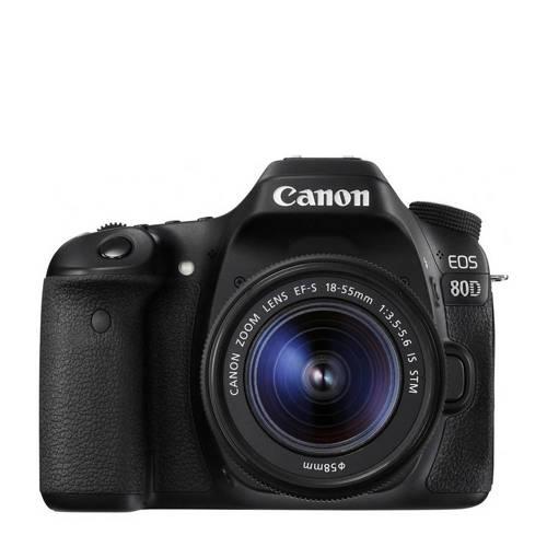 Canon EOS 80D + EF-S 18-55 IS STM spiegelreflexcamera kopen