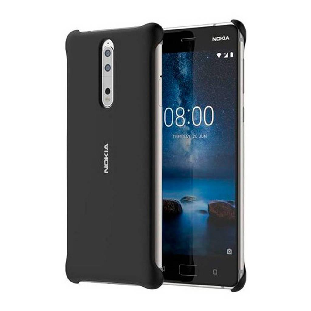 Nokia 8 Sirocco backcover, Zwart