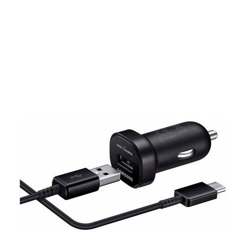 Samsung mini autolader (fast-charging) + micro usb-kabel kopen