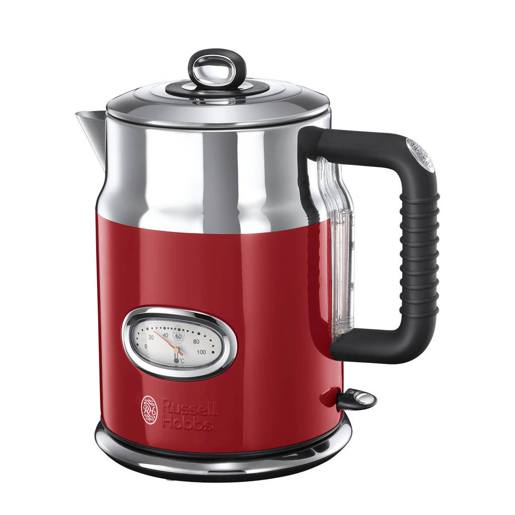Russell Hobbs Retro Ribbon Red waterkoker, Rood