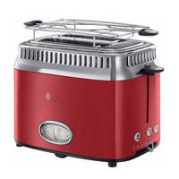 Russell Hobbs 21680-56 Retro Ribbon Red broodrooster, Rood