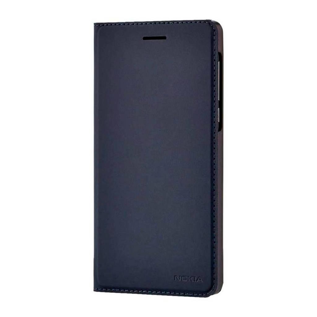 Nokia 6.1 flipcover, Blauw