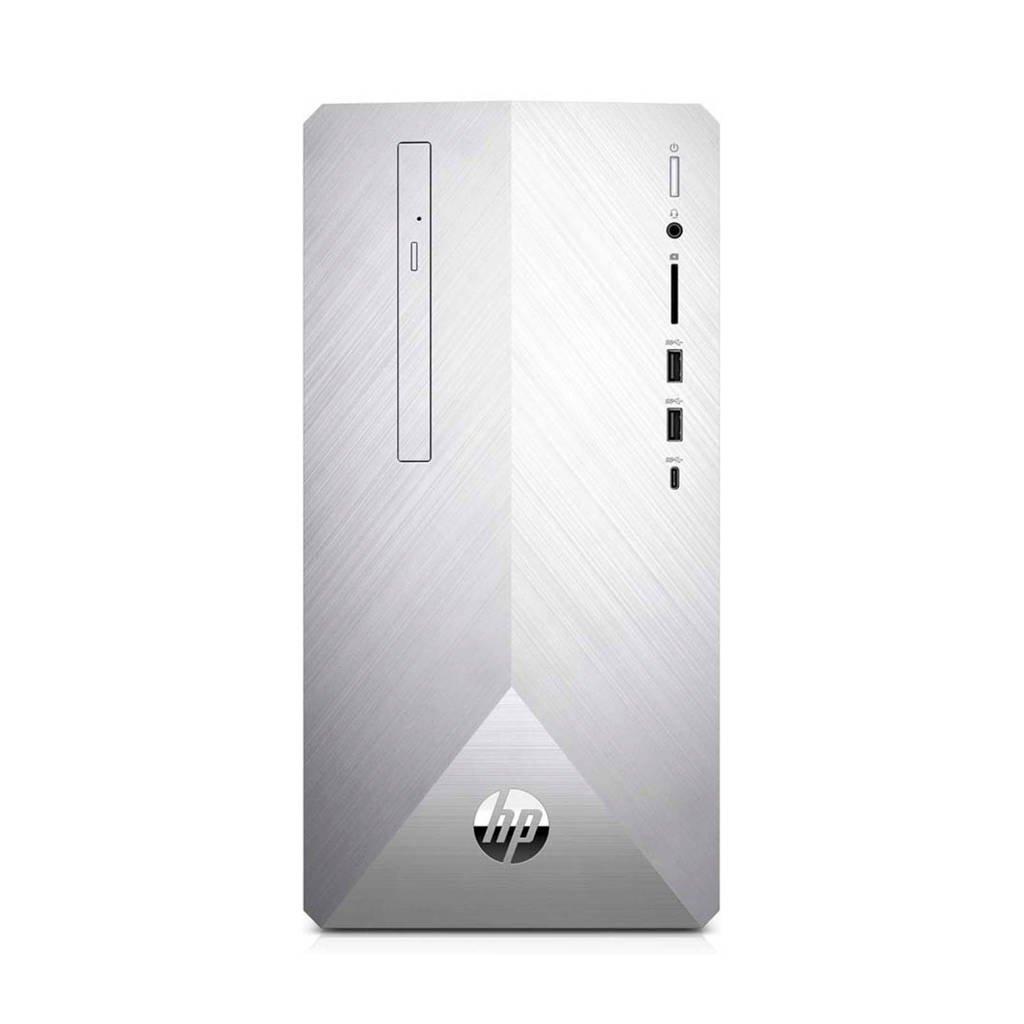 HP Pavilion 595-p0000nd computer, Zilver