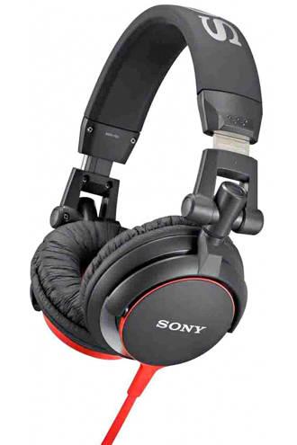 MDR-V55 over-ear koptelefoon zwart