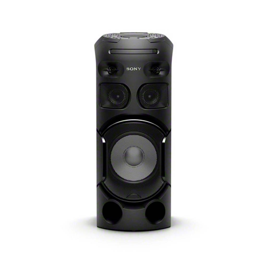 Sony MHC-V41D  MHC-V41D bluetooth speaker, Zwart