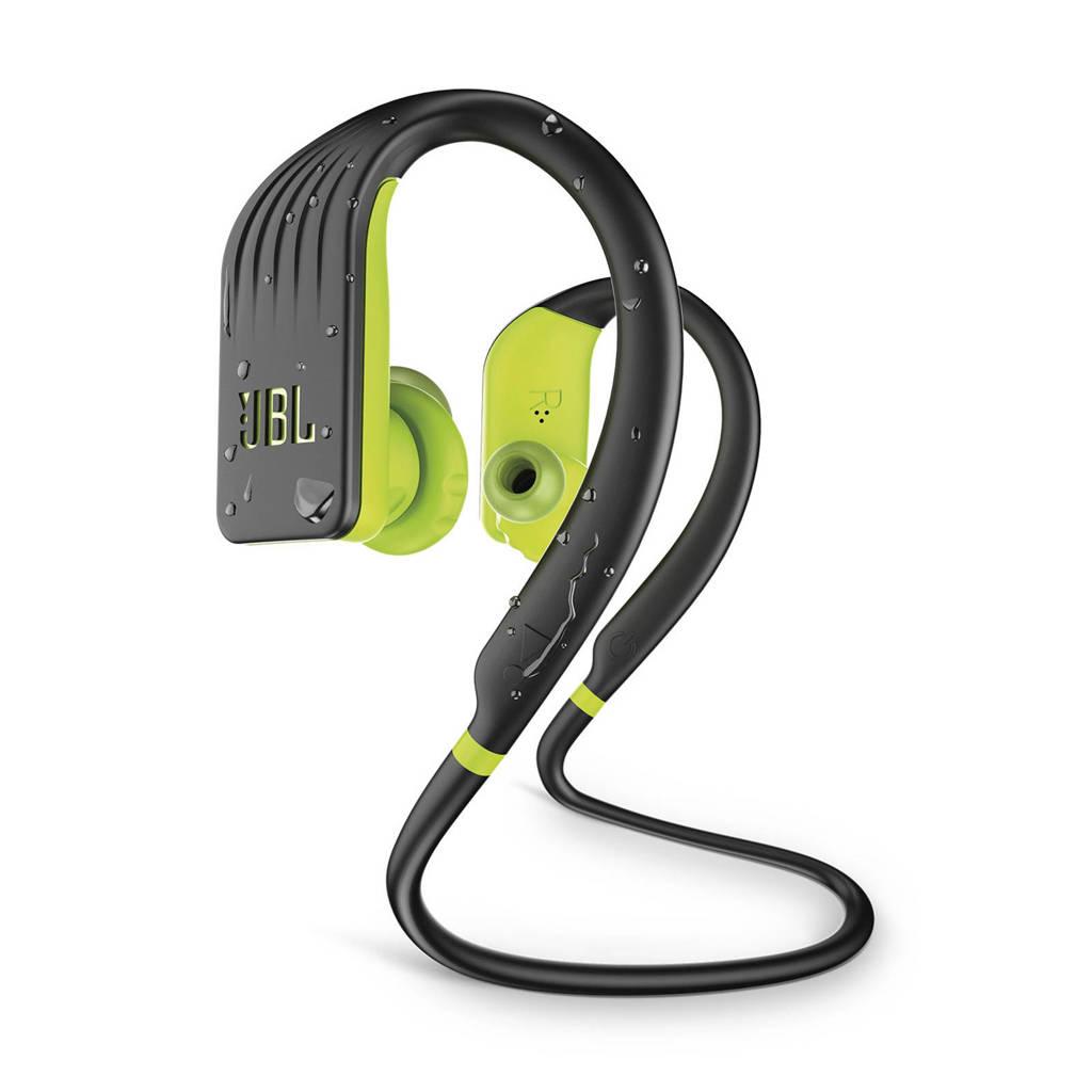 JBL in-ear bluetooth sport koptelefoon Endurance JUMP zwart-lime, Zwart-Lime