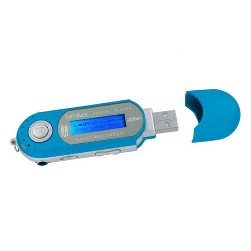 Difrnce Mp851 MP3-speler 4gb blauw