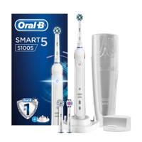 Oral-B  Smart 5100s elektrische tandenborstel - wit