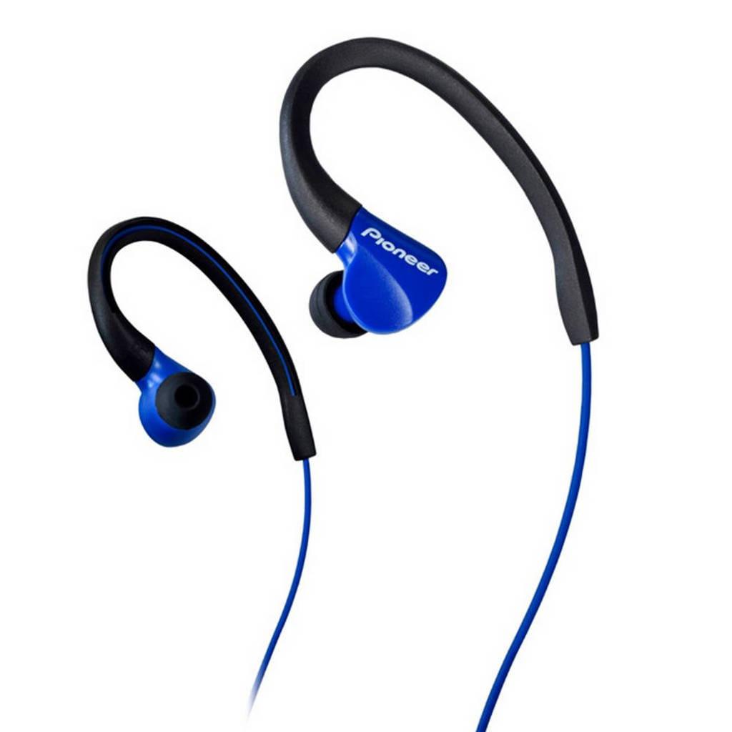 Pioneer in-ear sport koptelefoon SE-E3 Blauw