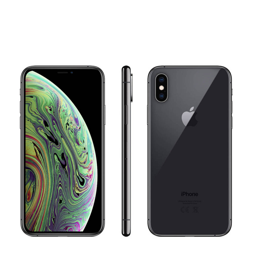 Apple iPhone Xs 256GB grijs, Grijs