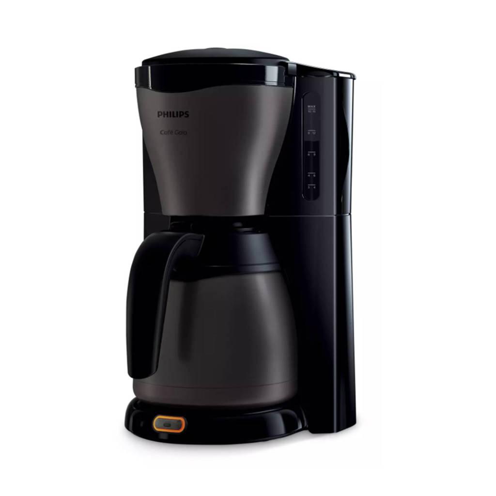 Philips HD7547/80 Café Gaia koffiezetapparaat, Black,Titanium