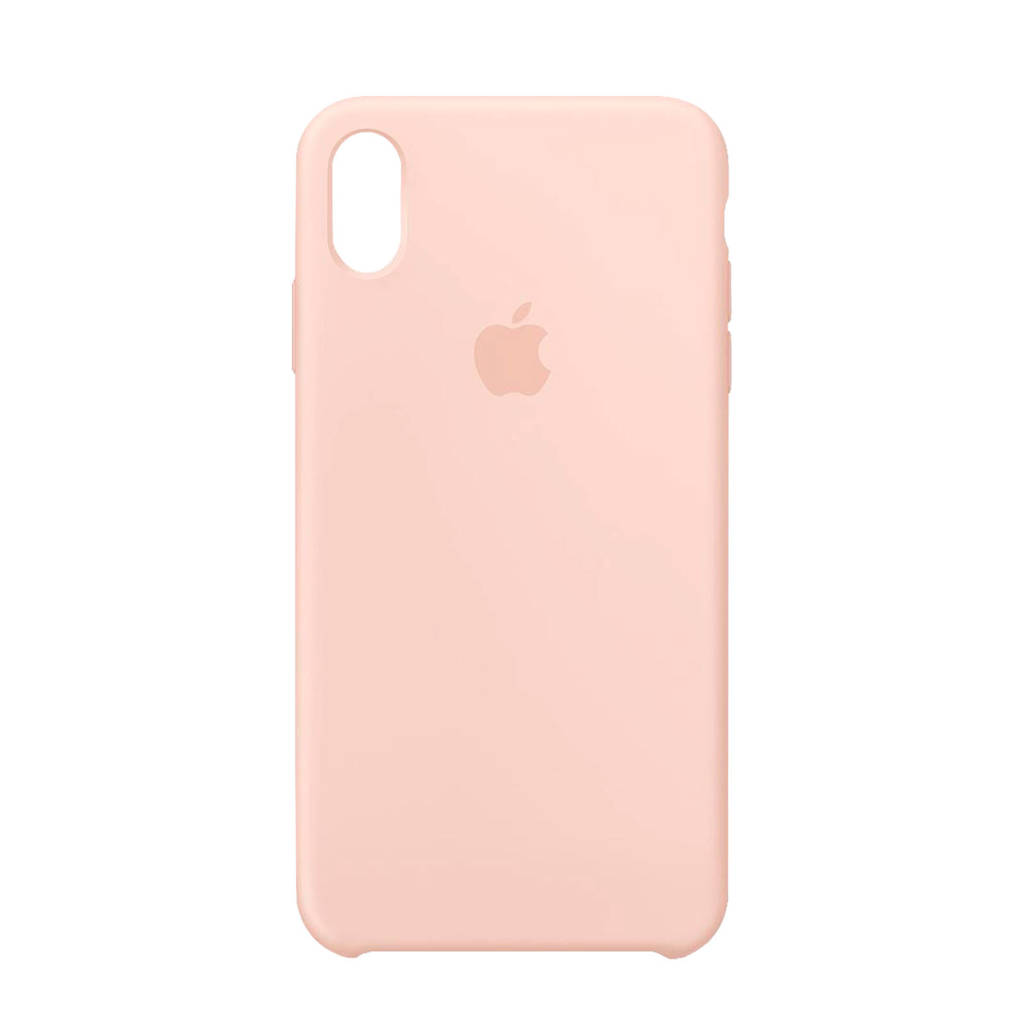 Apple iPhone XS Max siliconen back cover roze, -