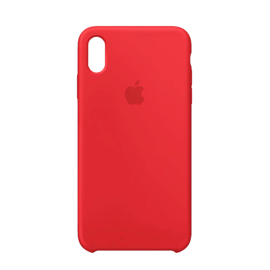 Apple iPhone XS Max backcover, Rood
