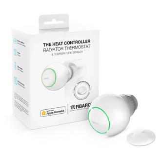 FIBARO THE HEAT CONTROLLER STARTER PACK WORKS WITH radiatorthermostaat inclusief tempratuursensor