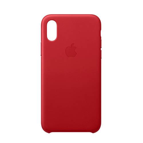 Apple iPhone XS leren backcover kopen