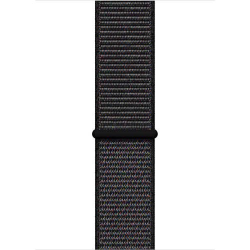 Apple Apple MTM72ZM/A siliconen sport horlogeband 44 mm zwart kopen