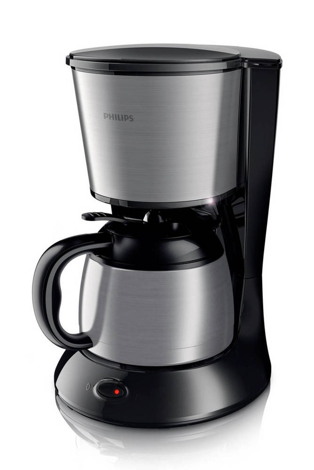 Philips HD7478/20 Daily Collection koffiezetapparaat, Zwart, Roestvrij staal