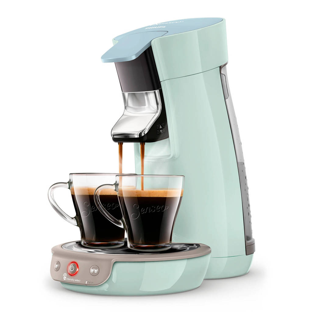 Philips Senseo Viva Café koffiezetapparaat HD6563/20, Mint colour