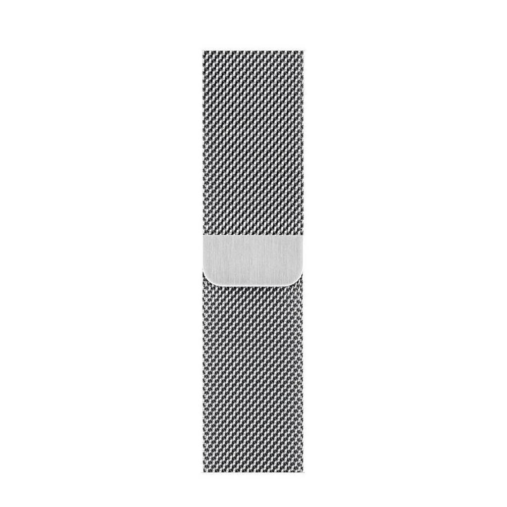 Apple bandje 44 mm Milanese Loop (Zilver)
