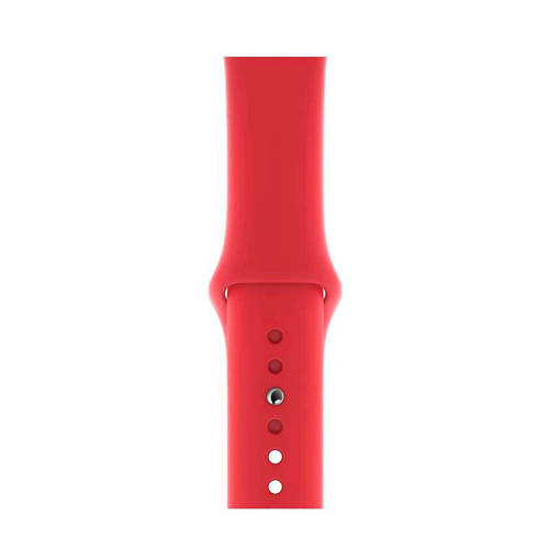 Apple Apple MU9N2ZM/A siliconen sport horlogeband rood kopen