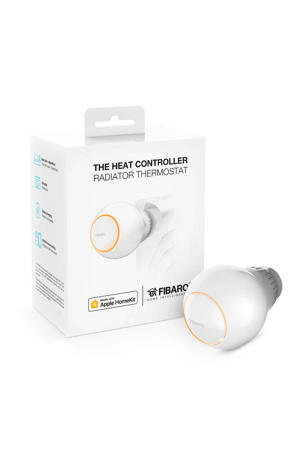 FIBARO THE HEAT CONTROLLER WORKS WITH APPLE HOMEKI radiatorthermostaat inclusief tempratuursensor