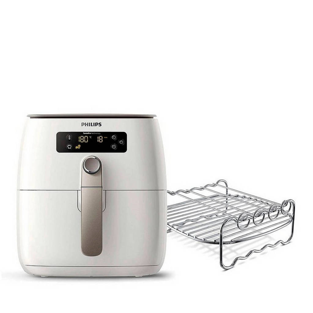 Philips HD9642/20 Avance Collection Airfryer met grillrooster, Wit