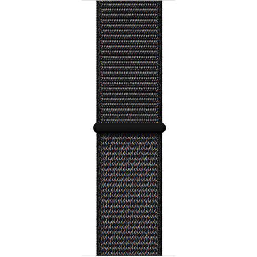 Apple Apple MTLT2ZM/A siliconen sport horlogeband 40 mm zwart kopen
